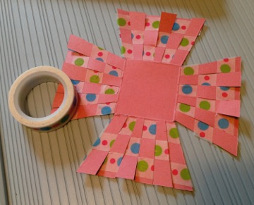Paper Easter Basket How 2