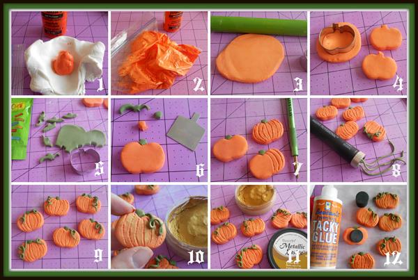 Pumpkin Magnets Step Out