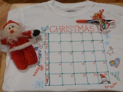 Simple Solution - Countdown to Christmas Nightshirt