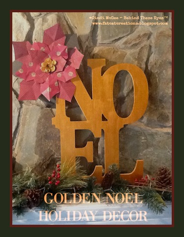 Golden Noel Holiday Decor