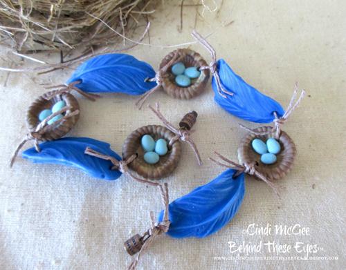 Nesting Bluebirds Bracelet