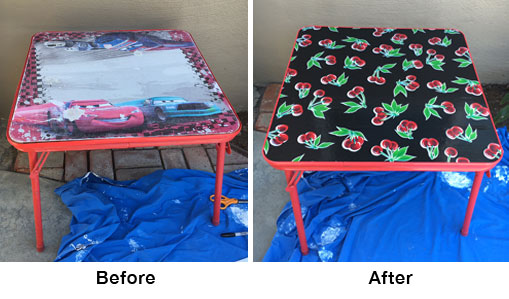 Upcycle Before/After