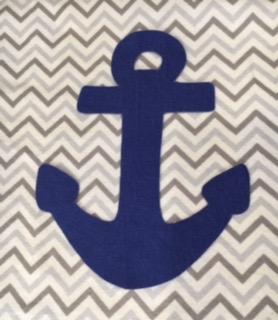 Anchors Away Baby Blanket 7