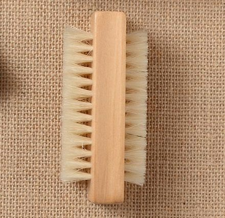 Plaid Block Cleaning Brush