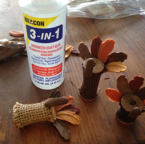 Wood Spool Turkeys How 5