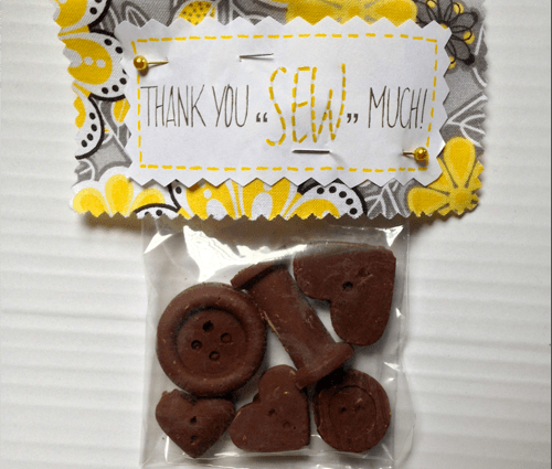Chocolate Buttons (Square)