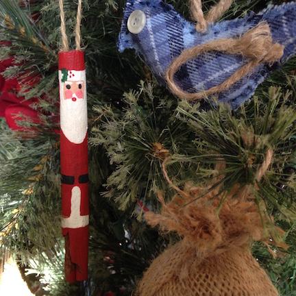 Cinnamon Stick Santas
