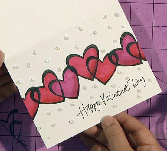 Color Me Valentine Card
