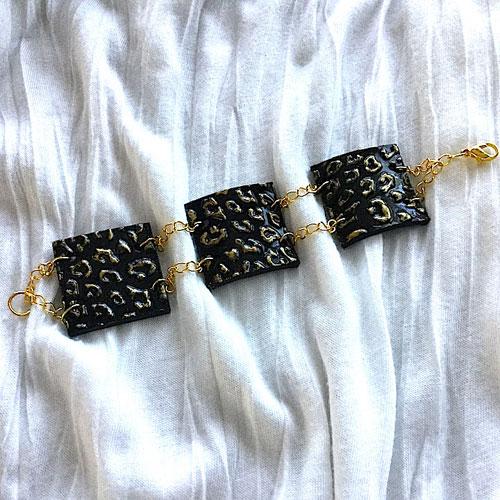 Golden Leopard Bracelet