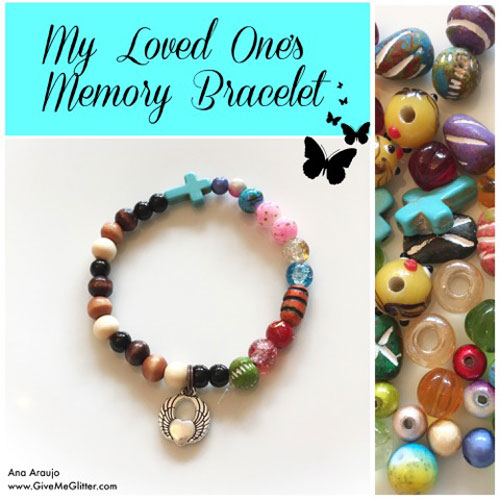 My Loved One's Memory Bracelet