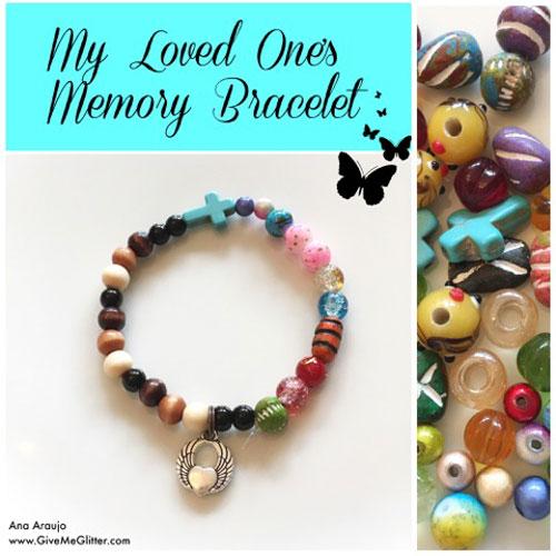 My Loved One's Memory Bracelet