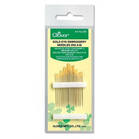 Clover® Embroidery Needles