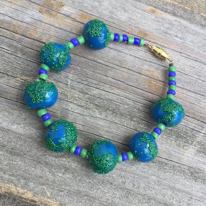 """""""Earth"""" Beads Bracelet"""