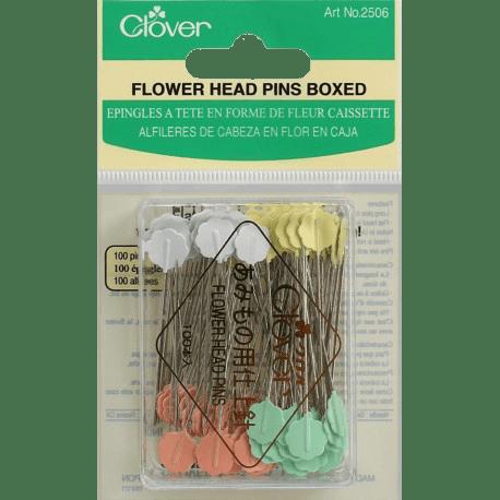 Clover® Flower Head Pins