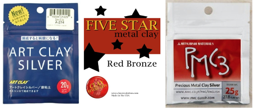 metal clay how packages
