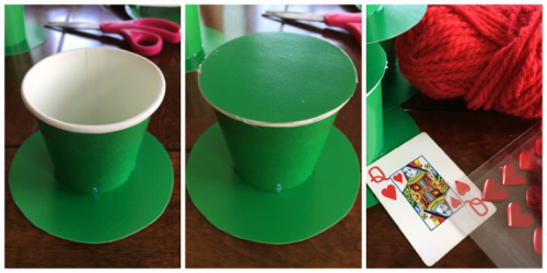 Mad Hatter Hat steps 2