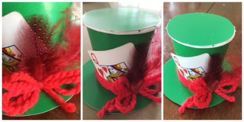 Mad Hatter Hat steps 4
