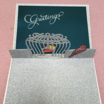 PopUp Birdcage Card