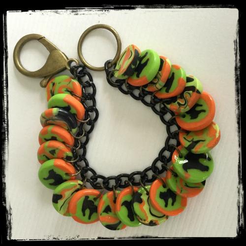 Halloween Cat Bracelet