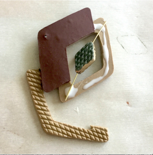 Diamond Pattern Pendant HOW 4