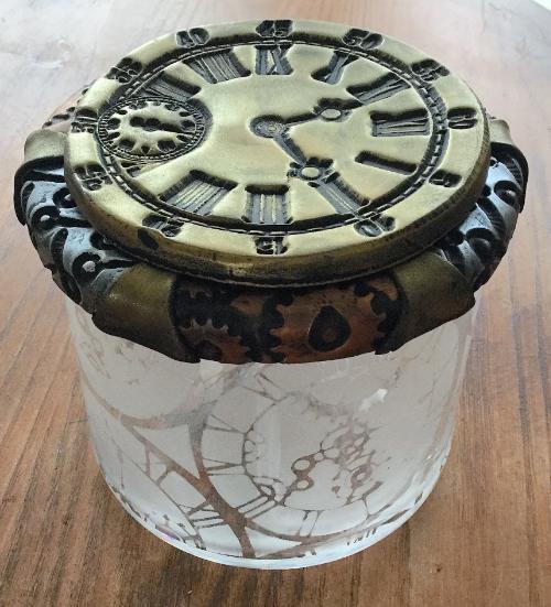 Steampunk Clock Face Votive HOW 10
