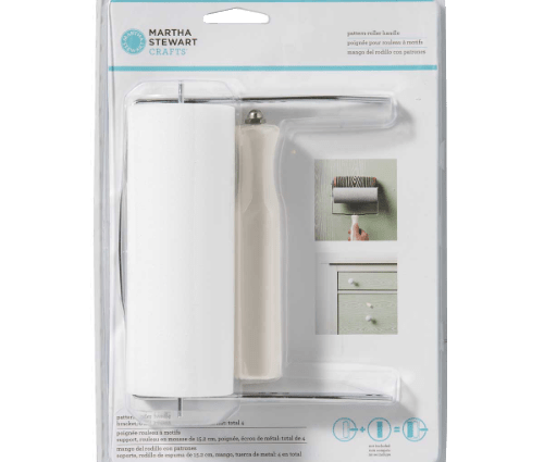 Martha Stewart Crafts ® Patterned Roller Handle