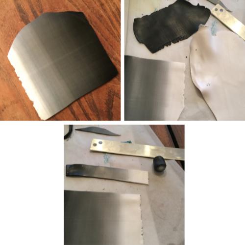 Snakeskin Polymer Clay Pendant How 3