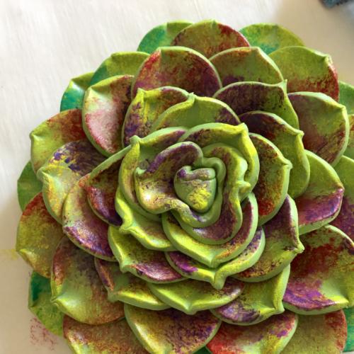 Colorful Succulent Pendant