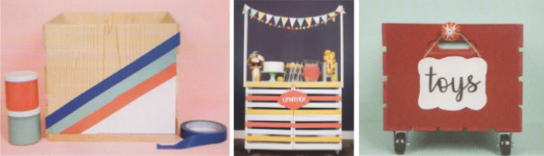 Simple Crate, Lemonade Stand, Roller Toy Box