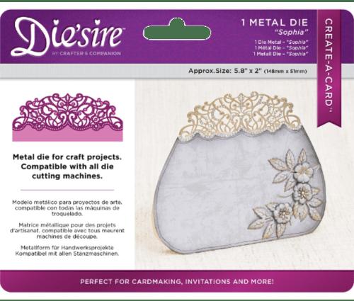 Die'Sire Create-A-Card Metal Die - Sophia