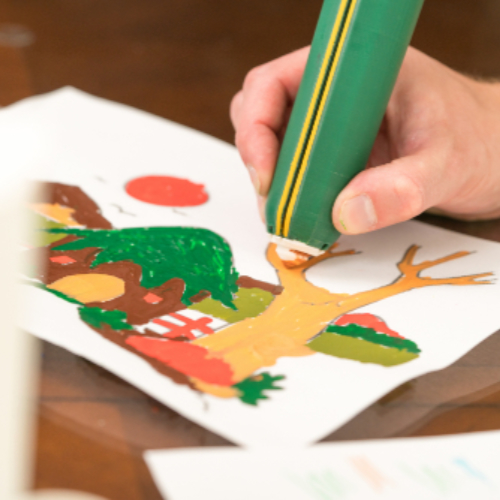 New Crayon Melting-pen, yolapen, Revives Arts and Crafts