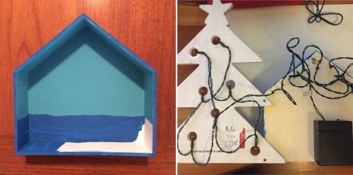 Tahitian Christmas Shadow Box 4