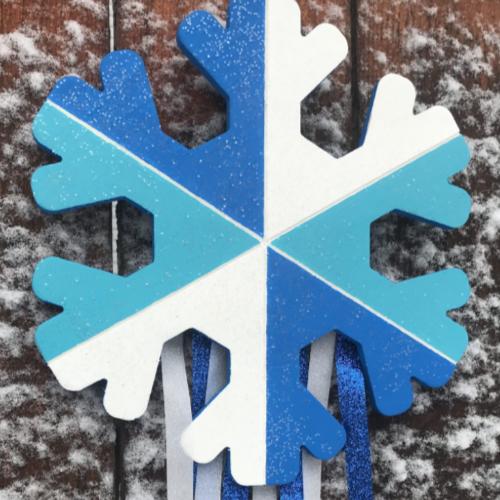 Snowflake Door Hanger