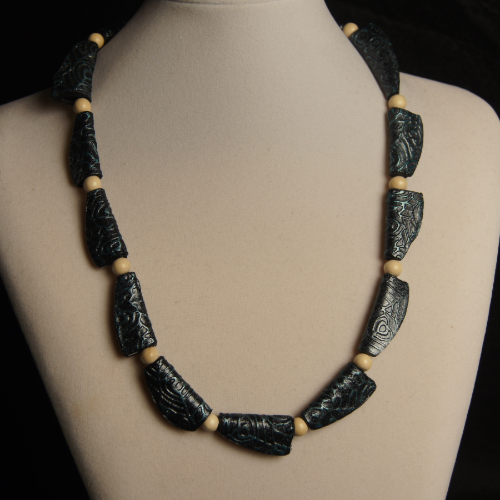 Squished Beads Necklace