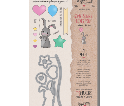 Stamp and Die Set - Some Bunny Loves You