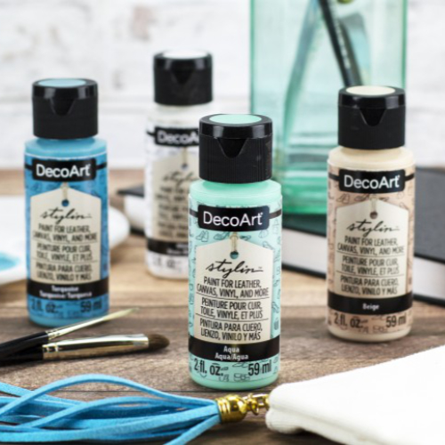 Create fashion looks with DecoArt's Stylin Paints