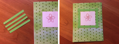 Embossed Flower Greeting Card How 6