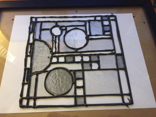 Simulated Stained Glass Sun Catcher How 2