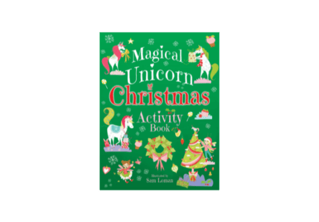 Magical Unicorn Christmas Activity Book cover