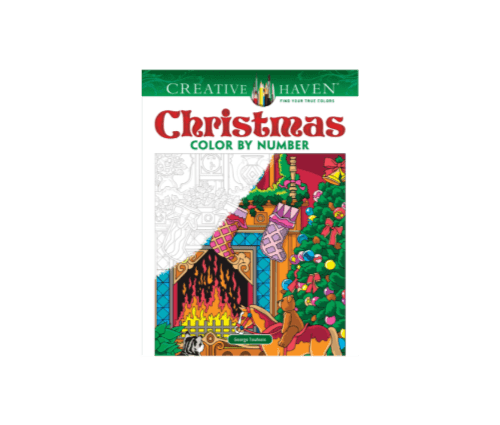 Christmas Color By Number Cover
