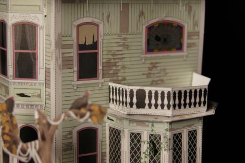Haunted House Final Touches - Solarium
