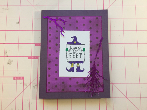 Halloween Witch Card How 8