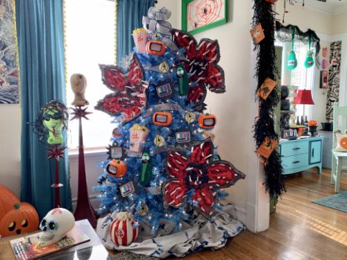 Halloween TV Treetopia Tree