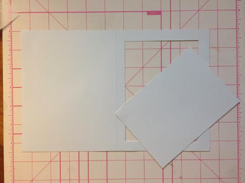 Tiled Christmas Card How 4