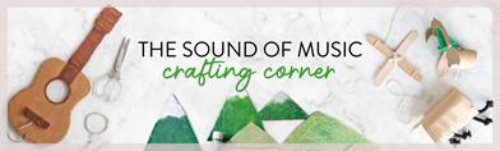 Sound of Music Crafting Corner masthead