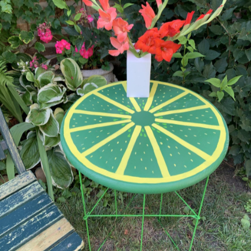 Lime Table 500SQ