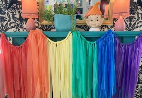 Rainbow Garland 500