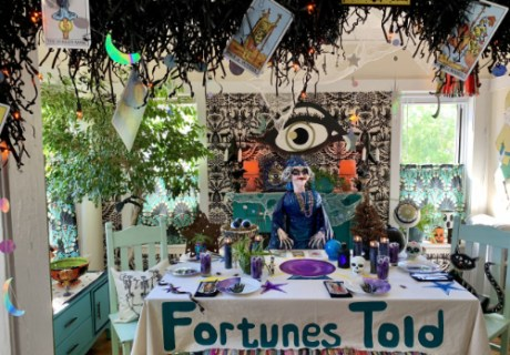 Madame Mystery's Mystical Fortune Teller Halloween Party