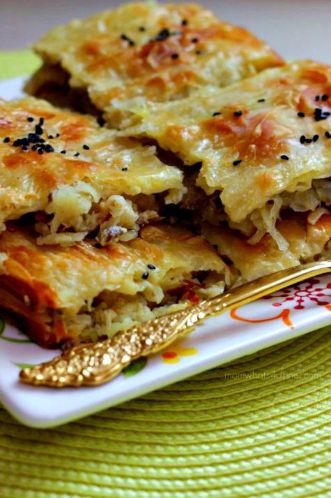 Kıymalı Börek (Hazır Yufkadan) - Nefis Yemek Tarifleri