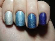 blue nails food